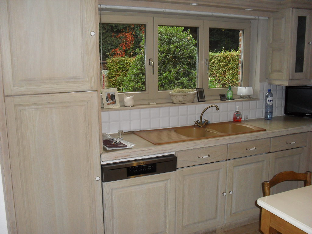 Eiken Keuken Zandstralen : Meubelrenovatie.be – Bedrijf